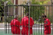اعدام زجر آور 7 عراقی در قفس