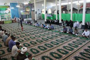 استقبال شیعیان جمهوری آذربایجان از آیین جزء خوانی قرآن در آستارا