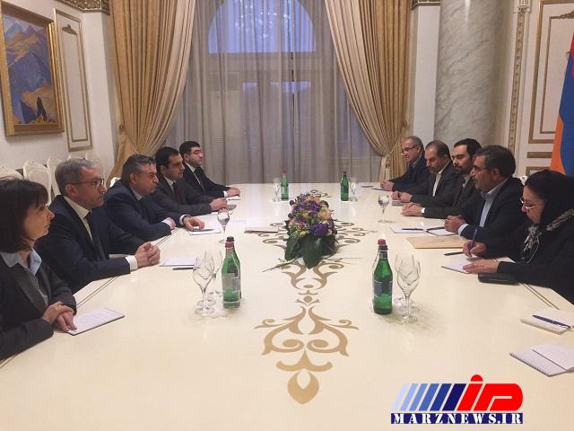 انرژی محور دیدار نخست وزیر ارمنستان با معاون وزیر نفت ایران