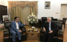 ديدار دبير ستاد مركزي اربعين حسینی با سفير عراق درتهران