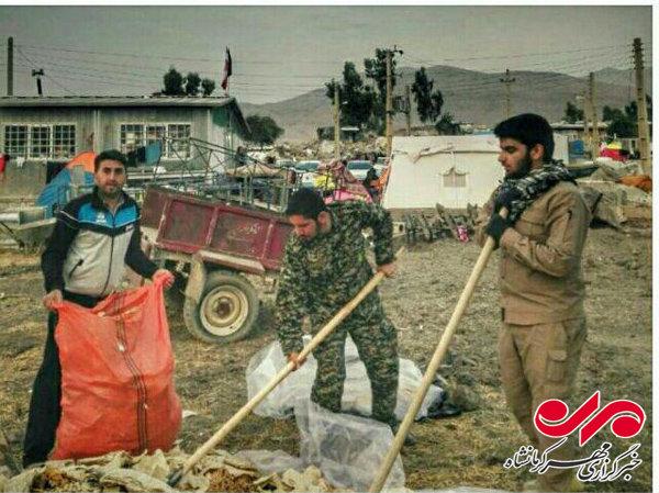 روایتی نو از جهادگرانی که اینباریاور زلزلهزدگان کرمانشاه شدهاند