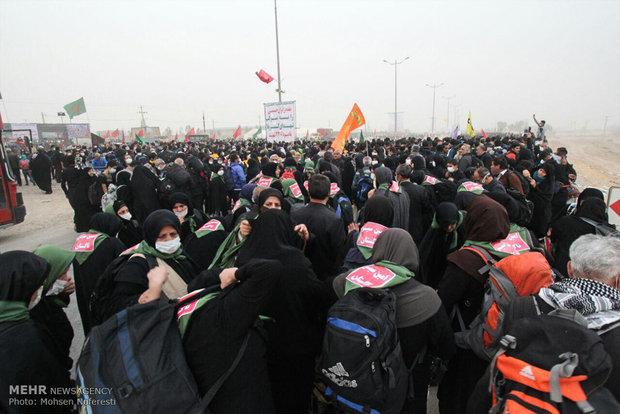 شوق دیدار تا بغض جامانده در مهران/ زائران با خیال آسوده می روند