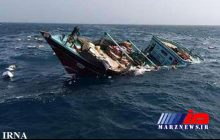 نجات 5 سرنشین شناور غرق شده در حوالی بندر دیر بوشهر