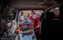 رئیس پلیس راه ایلام خبر داد:  ۴ مجروح در اثر واژگونی محور سرابله - چهار مله در ایلام