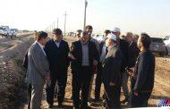 آغاز به کار آبشویی یک هزار هکتار از زمین های طرح 550 هزار هکتاری کشاورزی در خرمشهر