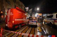 انفجار در فروشگاهی در «سن پترزبورگ» روسیه