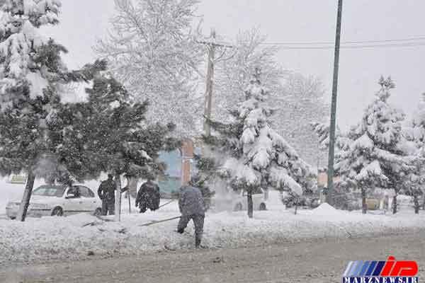 برف و باران گیلان را فرا می گیرد