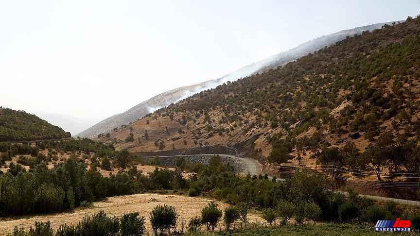 فعالیت بازرگانی در مرزهای کردستان با شمال عراق برقرار است