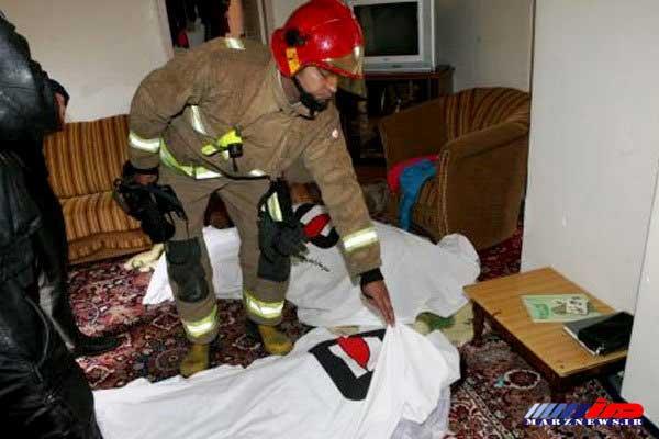 مادر و کودک بجنوردی در حادثه گازگرفتگی جان باختند