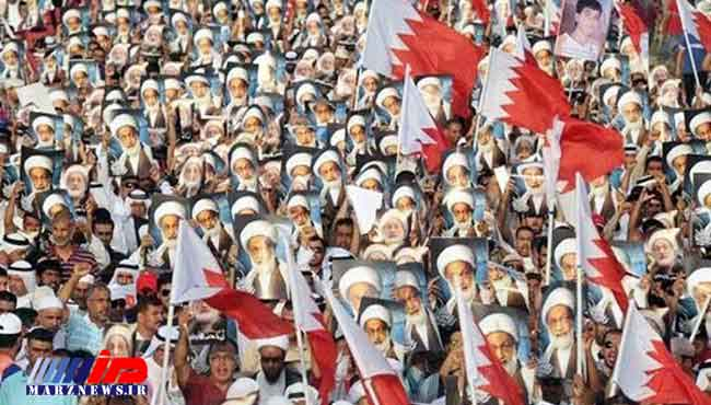 مردم بحرین در حمایت از آیت الله شیخ عیسی قاسم تظاهرات کردند