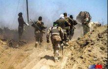 نیروهای الحشد الشعبی حمله عناصر داعش در مرز سوریه و عراق را دفع کردند