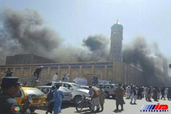 وقوع انفجار در نزدیکی آژانس امنیت ملی افغانستان