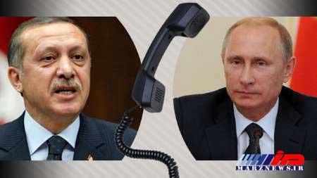 پوتین و اردوغان اقدام ترامپ را برای صلح خاورمیانه زیان بار دانستند