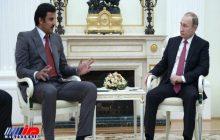 پیام شفاهی امیر قطر به رئیس جمهور روسیه