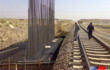 پیشرفت 50 درصدی در ۴ قطعه پروژه راهآهن شیراز به بوشهر