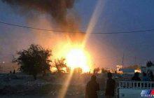 2200 کپسول گاز در حادثه انفجار در دزفول طعمه حریق شد