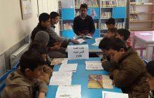 برگزاری نشست «کتابخوان» در کتابخانه ی عمومی قائم آل محمد(عج) روستای گلین قیه