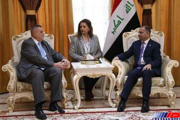 دیدار «سلیم الجبوری» با نماینده سازمان ملل در عراق