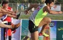 میلاد سیار دونده سنندجی سکوی رقابت های 60 متر بامانع کشور را فتح کرد