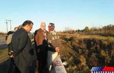 پیشرفت 10 درصدی اجرای پروژه خط تغذیه مسیرجاده قدیم گرگان-کردکوی