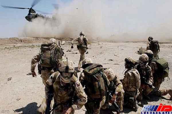 کشته و زخمی شدن ۵ نظامی آمریکایی در شرق افغانستان