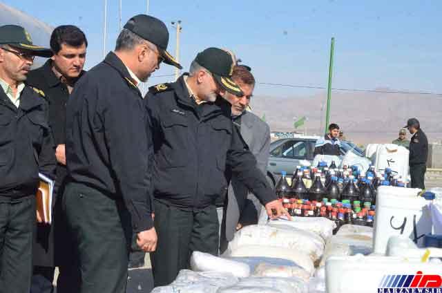 ۳۷ تن انواع مواد مخدر در خراسان جنوبی کشف شد