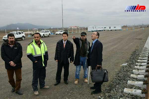 بازدید هیئت سیاسی و اقتصادی ژاپن از راه آهن آستارا