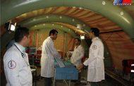 بیمارستان صحرایی در سیستان و بلوچستان راه اندازی شد