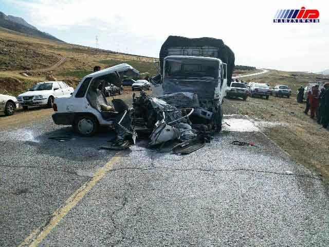 تصادف در محور روانسر 4 کشته بر جای گذاشت