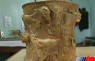 جام طلایی کشف شده از قاچاقچیان در موزه مشگین شهر نگهداری خواهد شد