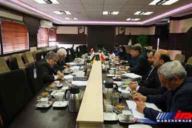 سفیر جمهوری عراق با مدیر کل امور مرزی وزارت کشور دیدار کرد