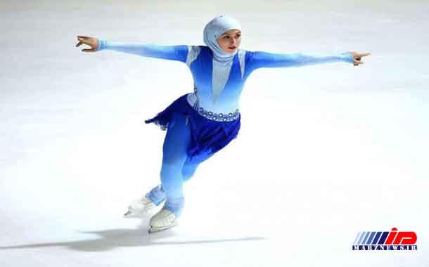 پوشش ورزشکار محجبه اماراتی در مسابقات پاتیناژ
