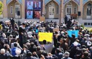 مردم گناباد در محکومیت اغتشاشات اخیر دراویش در تهران تجمع کردند