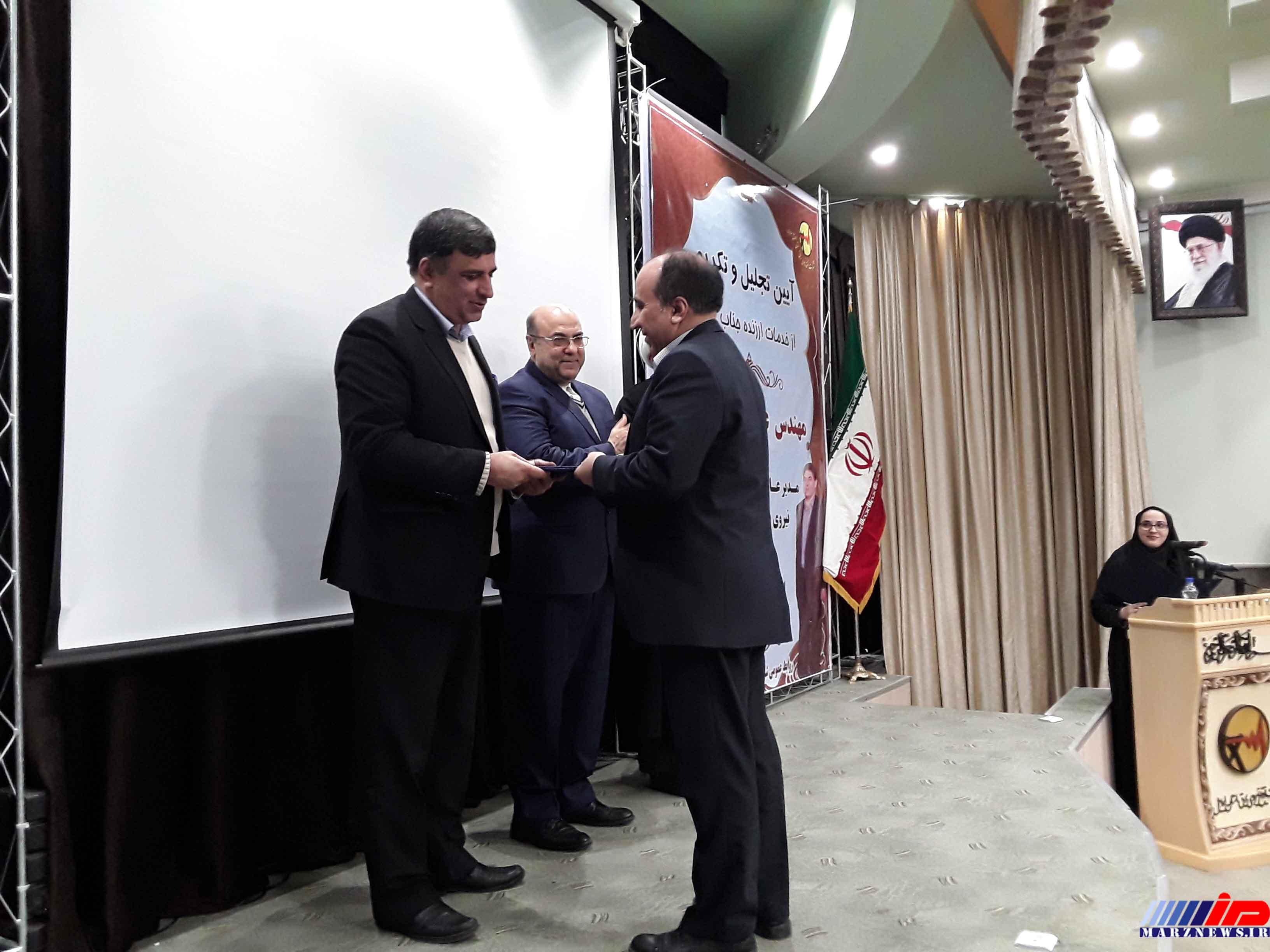 معارفه مدیر عامل جدید شرکت توزیع نیروی برق استان اردبیل