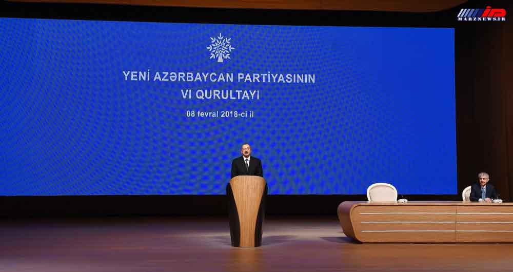 اعلام نامزدی الهام علی اف برای انتحابات ریاست جمهوری آذربایجان