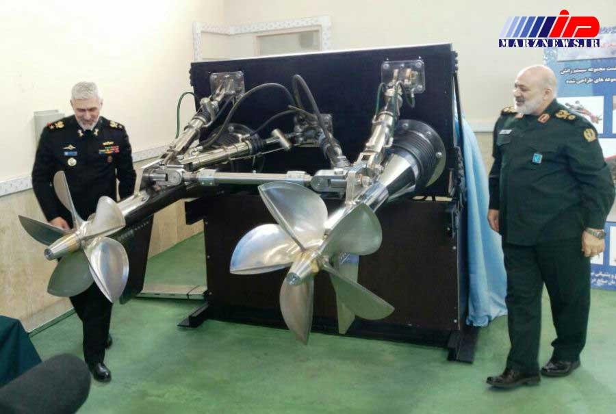 2 دستاورد پیشرفته صنایع دریایی وزارت دفاع در مشهد رونمایی شد