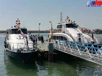 الحاق سه فروند شناور جدید مسافری به استان هرمزگان