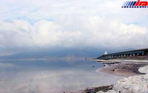 بارندگیها تاثیر مثبتی در روند افزایش سطح تراز دریاچه ارومیه داشت