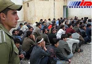 جلوگیری از ورود ۱۱۲ تبعه بیگانه غیر مجاز در مرزهای سراوان