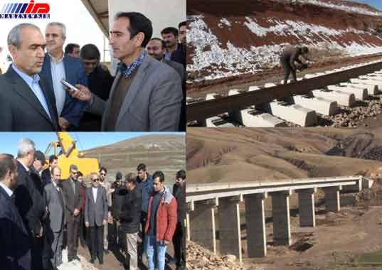 طرح راه آهن تبریز - میانه مشکل اعتباری ندارد