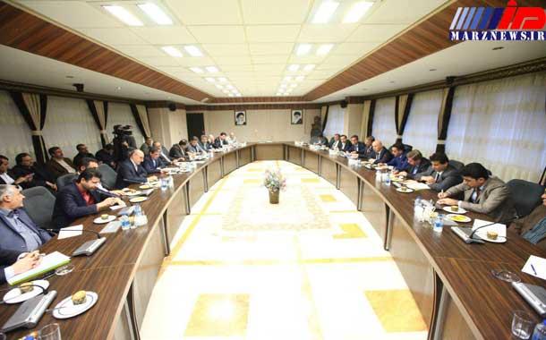 نشست مشترک هیات اقتصادی اقلیم کردستان با مدیران اقتصادی آذربایجان غربی برگزار شد