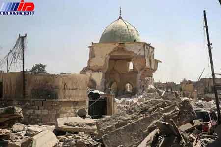 پیشنهاد امارات به بغداد برای بازسازی مسجد النوری و مناره الحدباء