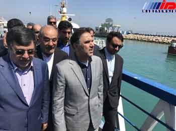 ۳ اسکله گردشگری در قشم افتتاح شد