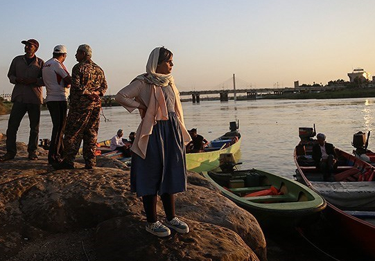 افتتاح اسکله  قایقهای شاتل دریایی در خرمشهر
