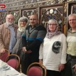 حضور گردشگران آلمانی در مجموعه خانه تاریخی صادقی