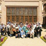 حضور گردشگران اسپانیایی در مجموعه خانه تاریخی صادقی