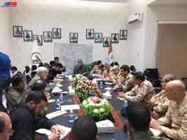 ارتش و الحشد عراق اوضاع سوریه را بررسی کردند