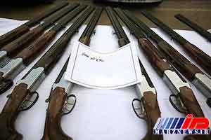 کشف ۲۰ قبضه اسلحه در کپسول CNG!