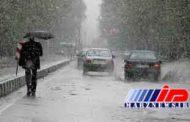 بارش برف در جادههای 5 استان کشور