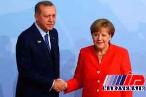 تأکید اردوغان و مرکل بر حفظ تمامیت ارضی سوریه
